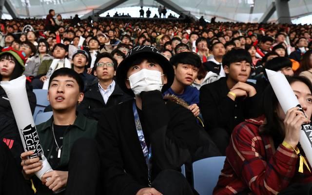 Die koreanische League-of-Legends-Liga LCK wird auf unbestimmte Zeit aussetzen müssen.