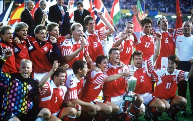 Aus dem Urlaub zum EM-Titel: Dänemarks Nationalteam 1992
