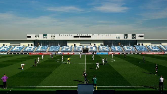 Im Estadio Alfredo Di Stefano will Real Madrid die Geisterspiele austragen
