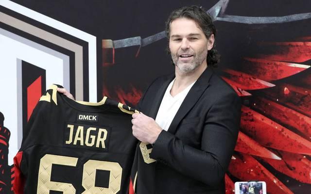 Jaromir Jagr ist heute 49 - und denkt weiter nicht ans Karriere-Ende