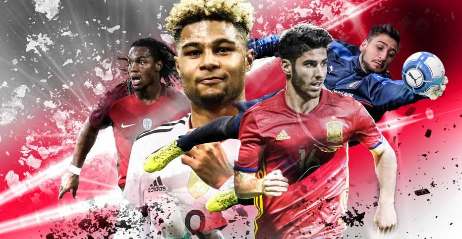 Europameister, Champions-League-Sieger und mehr: Bei der U-21 EM gehen die größten Juwele Europas auf Titeljagd - unter den wachsamen Augen der Scouts der Topklubs, bei denen einige Talente aber auch längst sind. SPORT1 zeigt die Players to watch