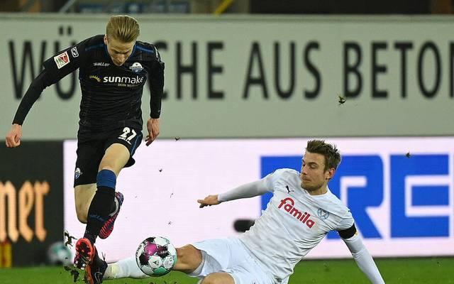 Paderborn bereitete Holstein Kiel einige Probleme