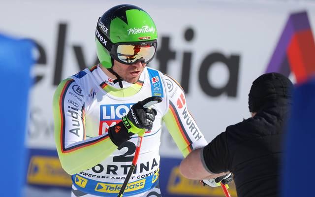 Andreas Sander zeigte ein bärenstarkes WM-Rennen in Cortina d'Ampezzo