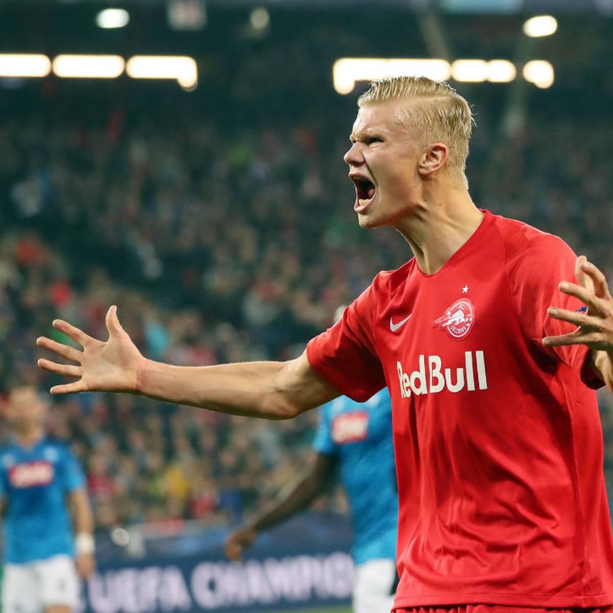 Haaland brilliert erneut für Salzburg