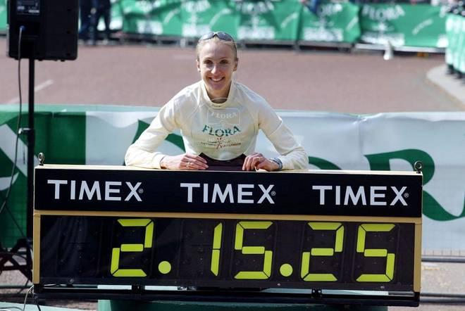 Paula Radcliffe ist die Rekordhalterin im Marathon bei den Frauen