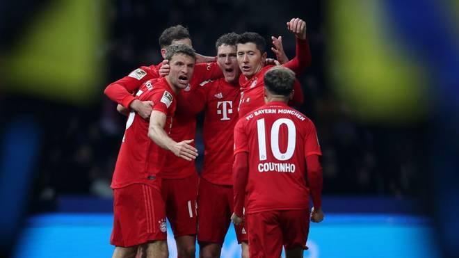 Der FC Bayern ist erfolgreich ins neue Jahr gestartet