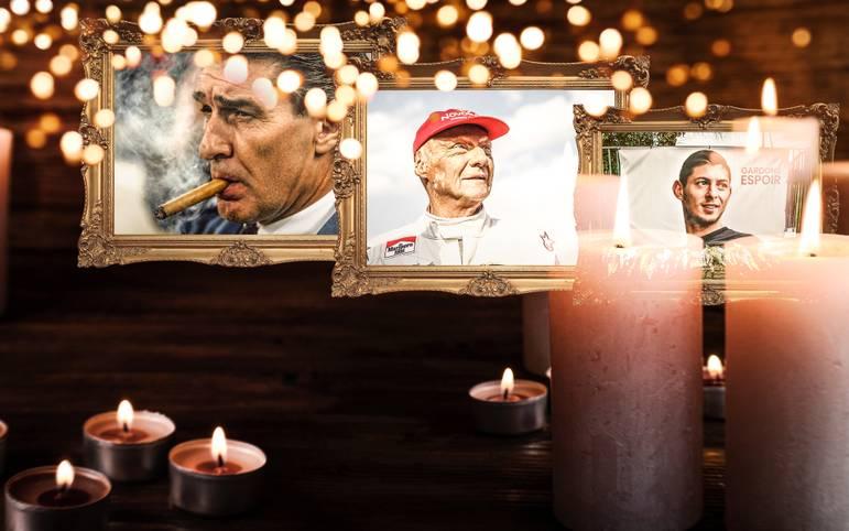 Das Jahr 2019 neigt sich dem Ende zu. Zeit, zurückzuschauen auf die Verluste, die die Sportfamilie in den vergangenen zwölf Monaten erlitten hat. SPORT1 zeigt die verstorbenen Sportgrößen 2019