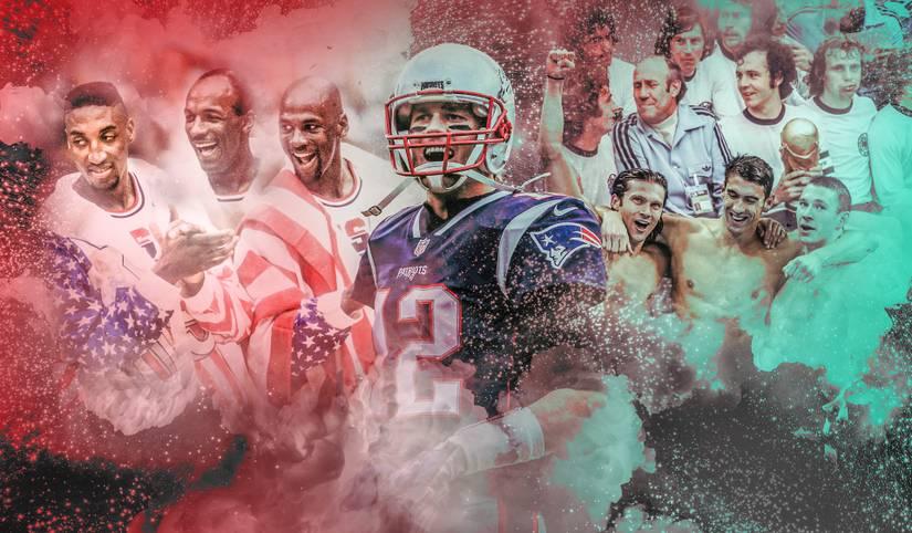 Die DFB-Helden von 1974? Ajax Amsterdam? Die Bulls um Michael Jordan oder das Dream Team der USA? Welches ist das beste Team aller Zeiten? Das SPORT1-Ranking