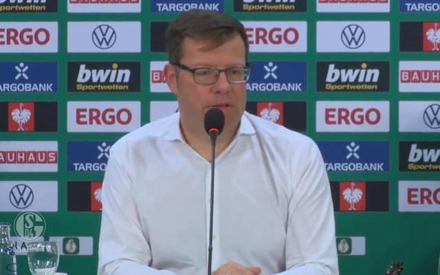 Mediendirektor Thomas Spiegel stellt die Schalker Strategie zum Thema Ultras-Störungen klar