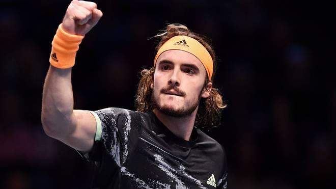 Stefanos Tsitsipas gewinnt sein Match bei den ATP-Finals