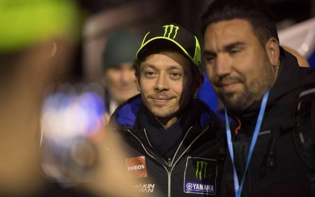 Valentino Rossi hat ein kurioses Ritual am Start
