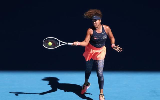 Naomi Osaka schlug im Halbfinale Serena Williams