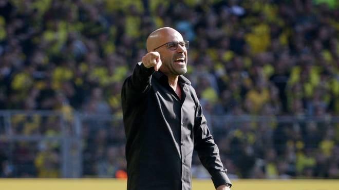 Peter Bosz hofft auf einen Sieg gegen Eintracht Frankfurt