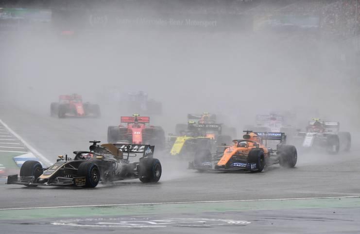 Der vermutliche letzte Grand Prix in Hockenheim sorgte noch einmal für Spekakel, Chaos und eine unglaubliche Aufholjagd von Sebastian Vettel, der auf Platz zwei fuhr. SPORT1 zeigt die besten Bilder des Rennens