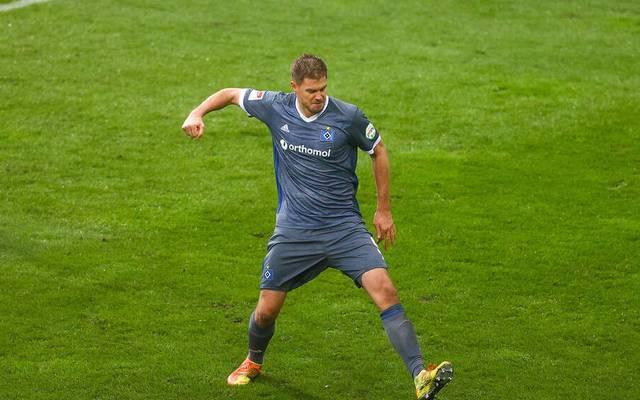 Simo Terodde war Matchwinner des HSV gegen Darmstadt