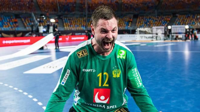 """Vereinskollege Uwe Gensheimer bezeichnet Andreas Palicka als """"kleinen Vulkan"""""""