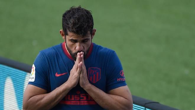 Diego Costa kann Atlético gegen den FC Bayern nicht helfen