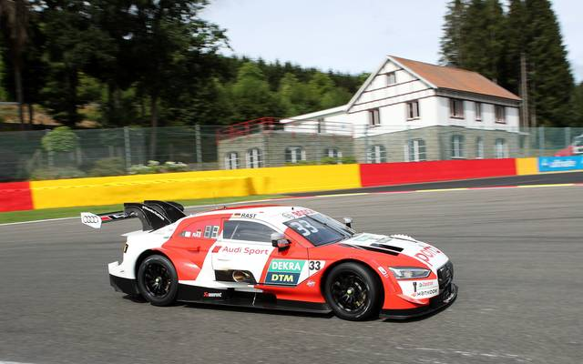 Rene Rast hat das DTM-Rennen in Spa gewonnen