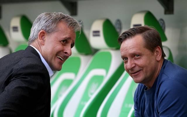 Pierre Littbarski (l.) traut Heldt die Wende beim FC zu
