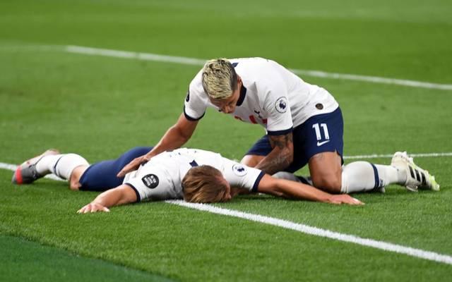 Harry Kane erzielte gegen West Ham United seinen ersten Treffer im Jahr 2020