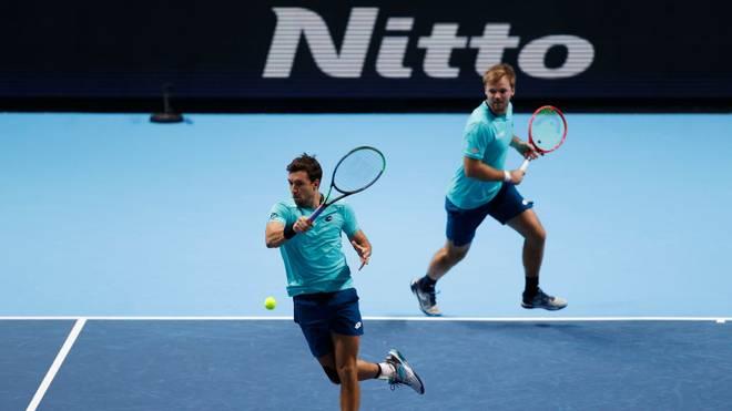 Andreas Mies (l.) und Kevin Krawietz gewannen zweimal in Folge die French Open im Doppel
