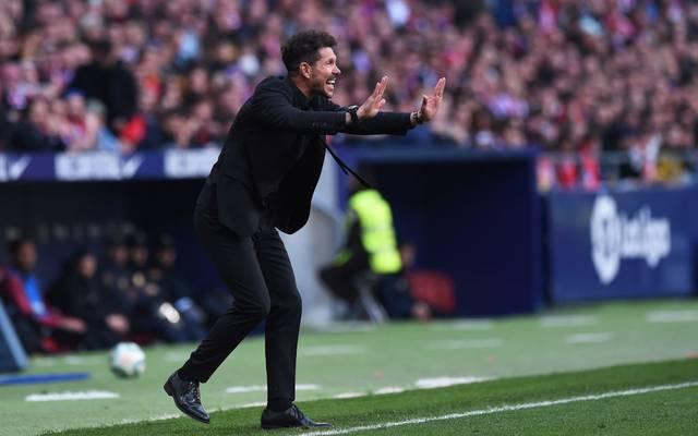 Wird beim Heimspiel gegen den FC Sevilla von den eigenen Fans ausgepfiffen: Diego Simeone