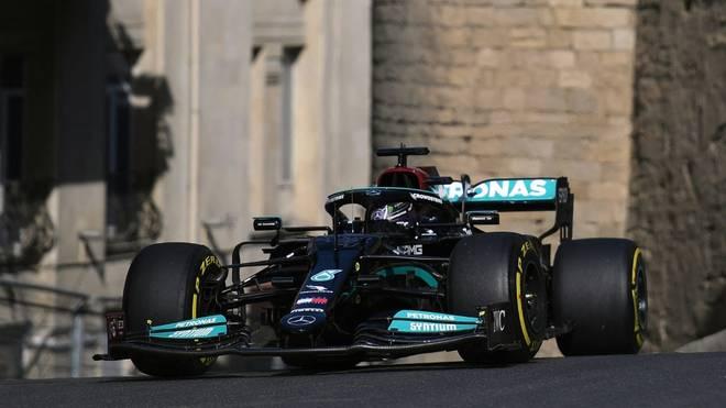 Für Mercedes und Hamilton wird das ein hartes Wochenende