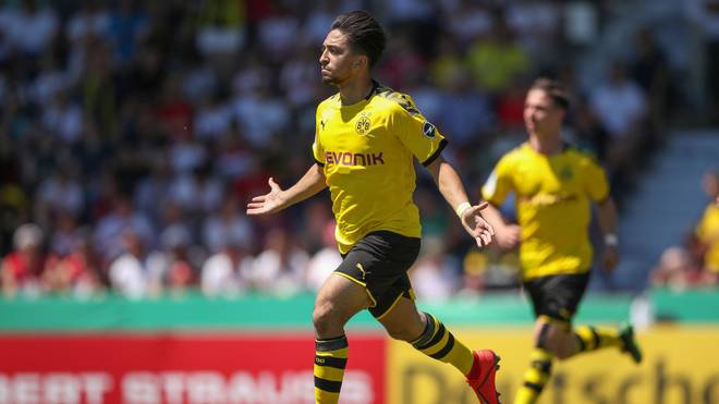 Immanuel Pherai erzielte den Führungstreffer des BVB gegen den MSV Duisburg