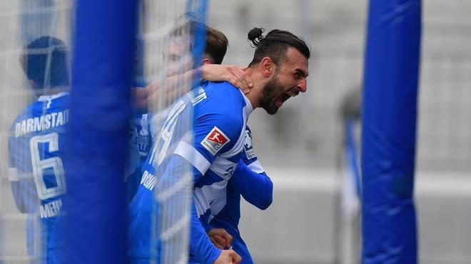 Serdar Dursun erzielt alle Treffer gegen Aue
