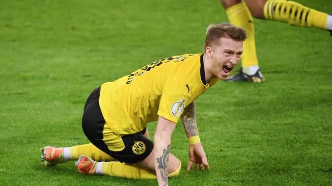 Marco Reus steht mit dem BVB im Halbfinale des DFB-Pokals