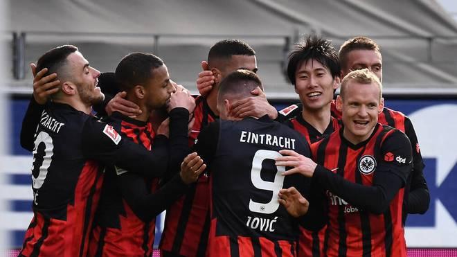 Eintracht Frankfurt ist auf Kurs Champions League