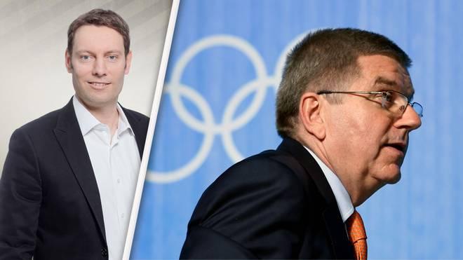 Für SPORT1-Redakteur Martin van de Flierdt ist IOC-Boss Thomas Bach seiner Führungsverpflichtung nicht nachgekommen