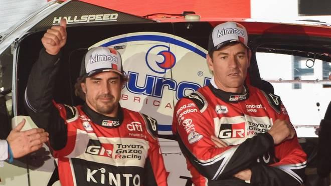 Fernando Alonso liefert diesmal eine starke Leistung bei der Rallye Dakar ab