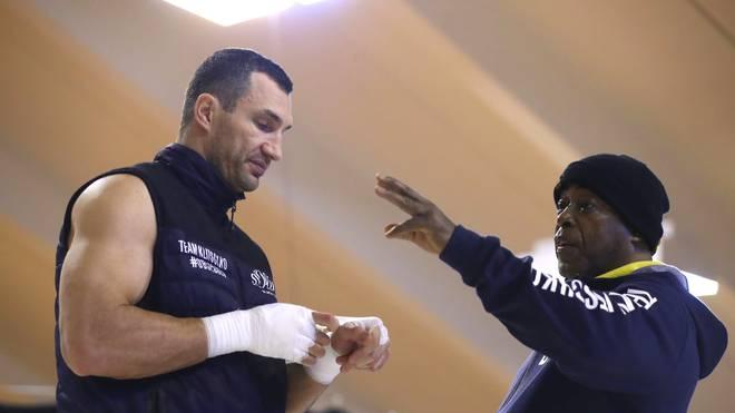 James Ali Bashir ist ein ehemaliger Trainer von Wladimir Klitschko