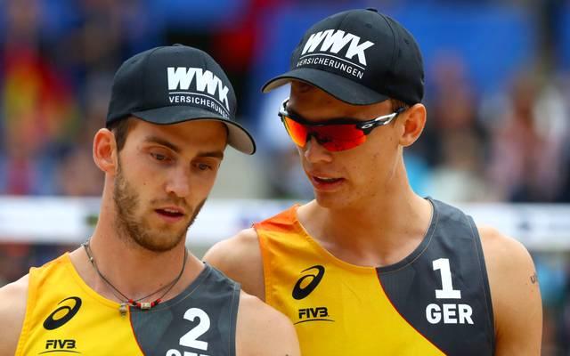 Julius Thole und Clemens Wickler sehen die Chancengleichheit bei Olympia gefährdet