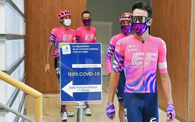Alle Fahrer bei der Tour de France sind negativ getestet worden
