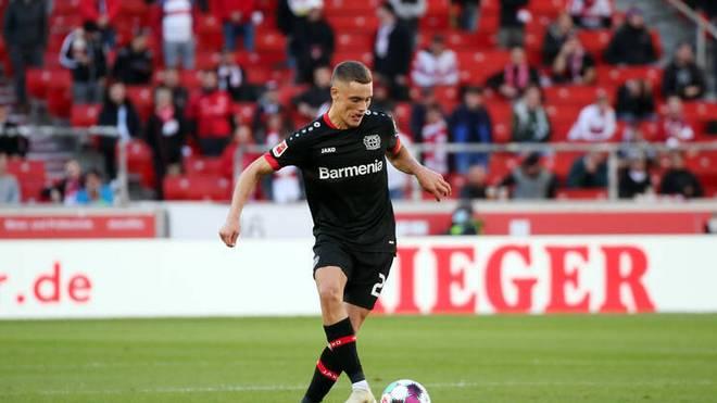 Bayer Leverkusens Mittelfeldspieler Florian Wirtz ist mit 17 Jahren und 159 Tagen der jüngste deutsche U21-Nationalspieler