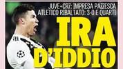 Juventus, Atletico, Cristiano Ronaldo, Gazzetta dello Sport
