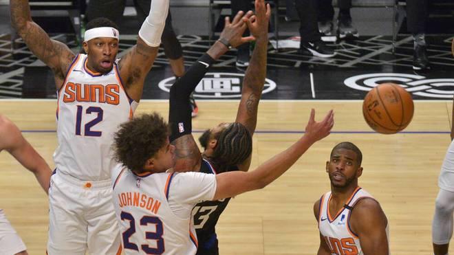 Die Suns stehen nach einem Sieg gegen die Clippers in den Playoffs