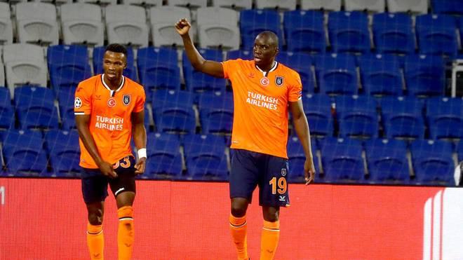 Demba Ba erzielte das erste Champions-League-Tor für Basaksehir
