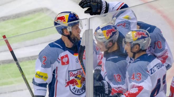 Der EHC Red Bull München grüßt aktuell von der Tabellenspitze der DEL