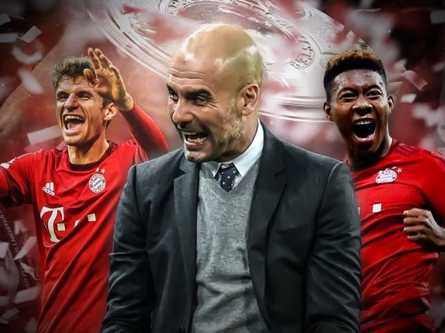 Der FC Bayern hat es geschafft. Zum ersten Mal in der Bundesliga-Geschichte gewinnt eine Mannschaft viermal hintereinander die Deutsche Meisterschaft. SPORT1 zeichnet den Weg zur historischen Bestmarke nach