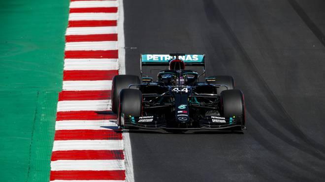 Mercedes dominierte das Training in Portugal