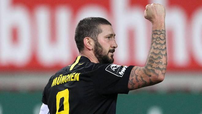 Sascha Mölders und 1860 München träumen von der Rückkehr in die Zweite Liga