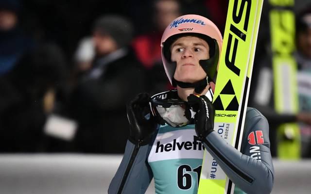 Karl Geiger geht als bester deutscher Athlet in die Vierschanzentournee