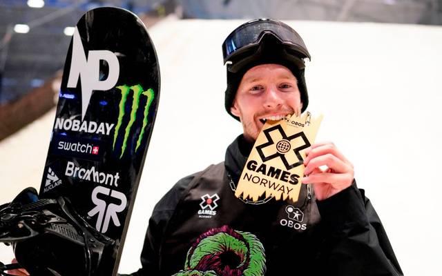 Max Parrot freute sich über die Goldmedaille bei den X-Games
