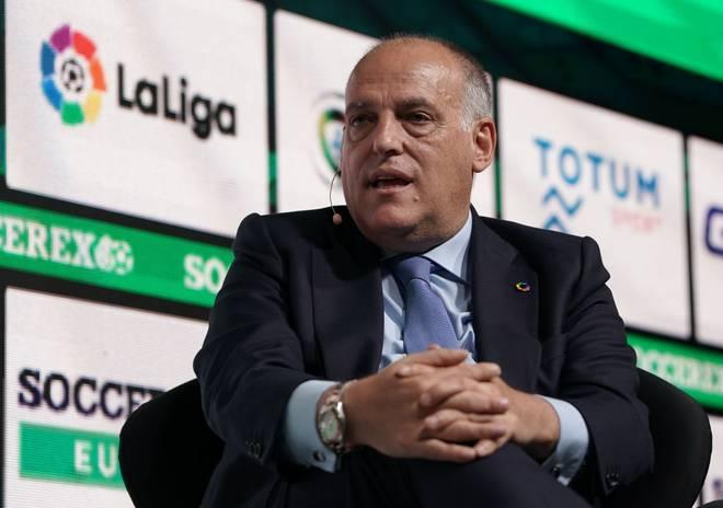 Javier Tebas ist Präsident der spanischen Liga