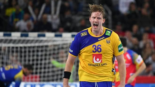 Der schwedische Nationalspieler Jesper Nielsen