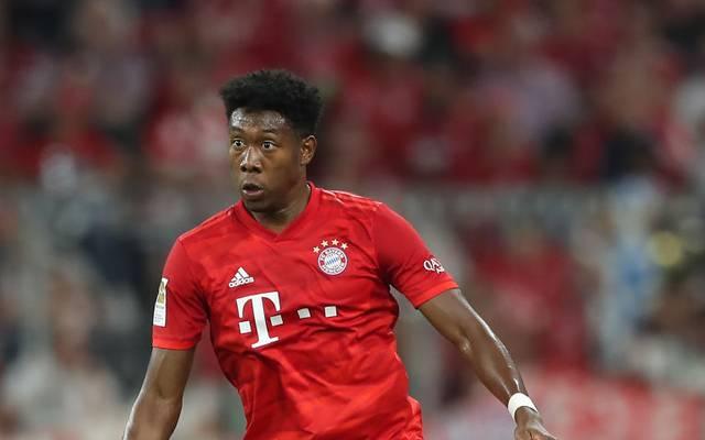 David Alaba fehlte den Bayern wegen eines Muskelfaserrisses