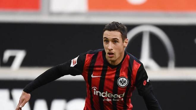 Dominik Kohr fand bei Eintracht Frankfurt noch nicht sein Glück